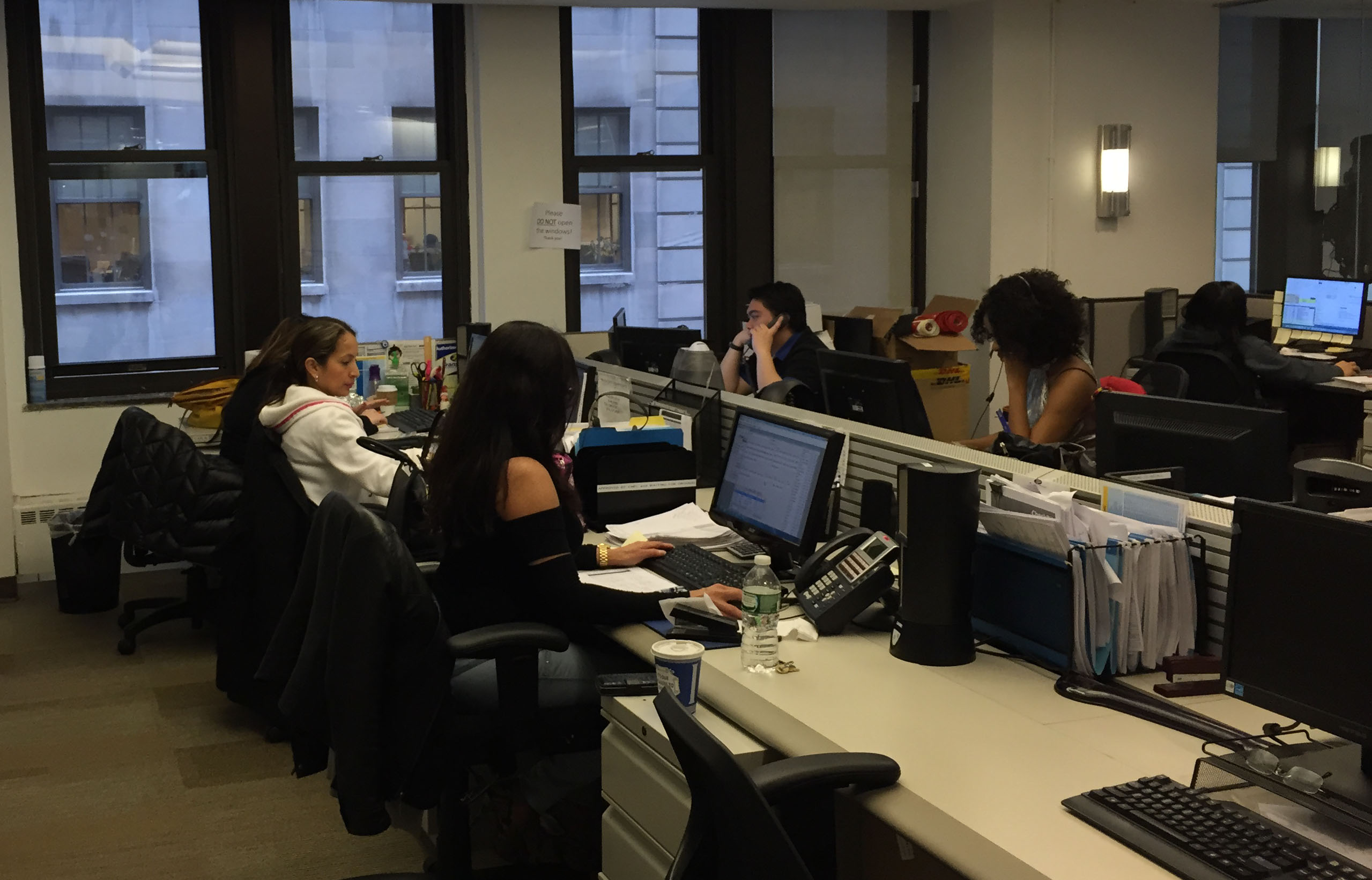 Transfast working environment: money transfer Global HQ on 44 Wall Street, New York