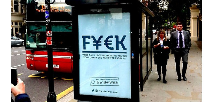 TransferWise Money Transfer: billboard