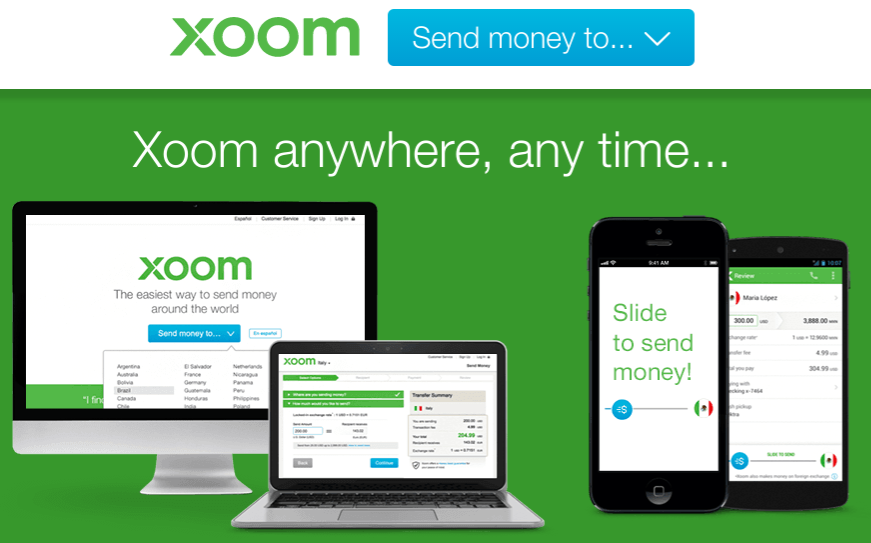 xoom money transfer the disruptor that was not rh saveonsend com Wiring Money Western Union Wiring Money Western Union
