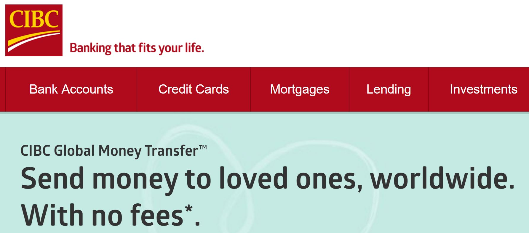 Cibc Promotion Of No Fees For International Money