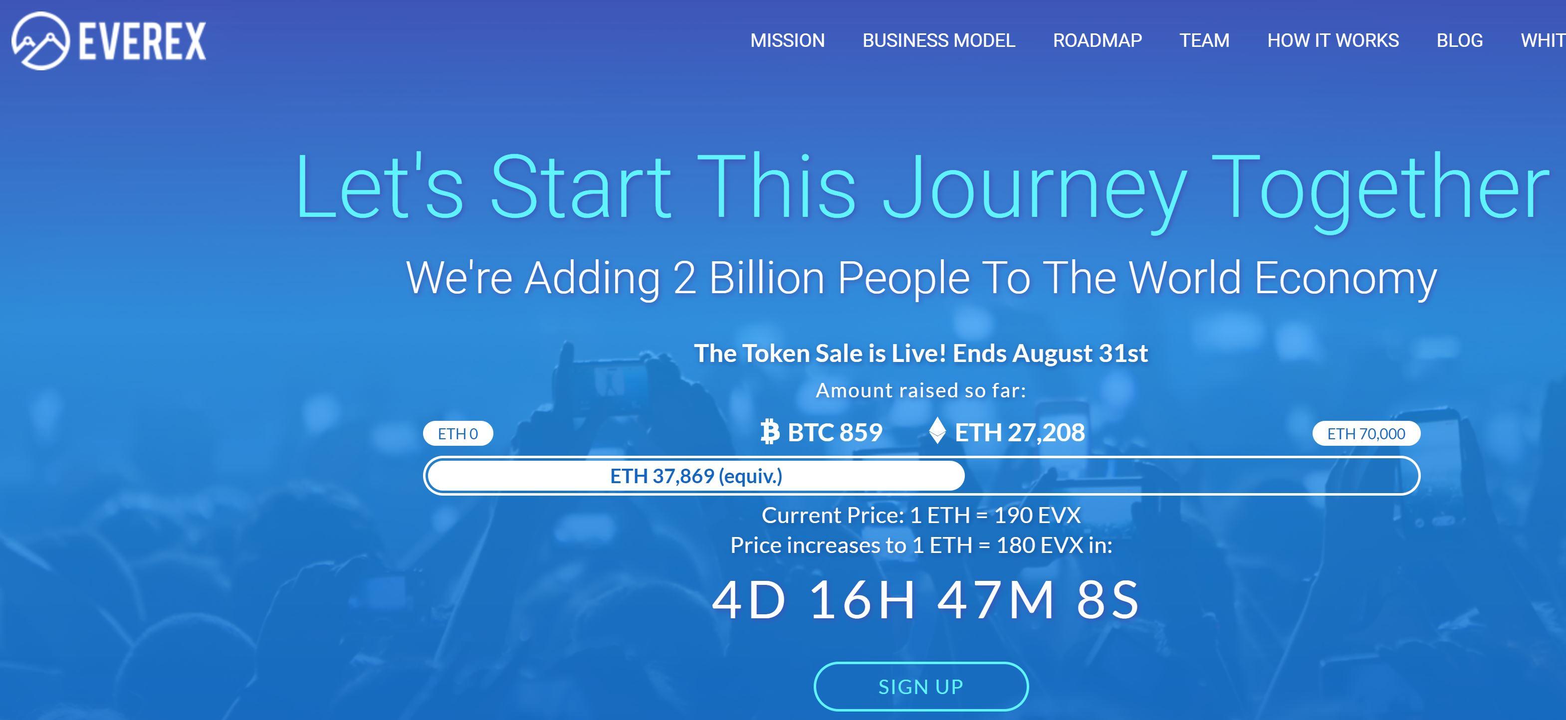Does bitcoinblockchain make sense for international money transfer everex blockchain startup aug 12 2017 sciox Gallery